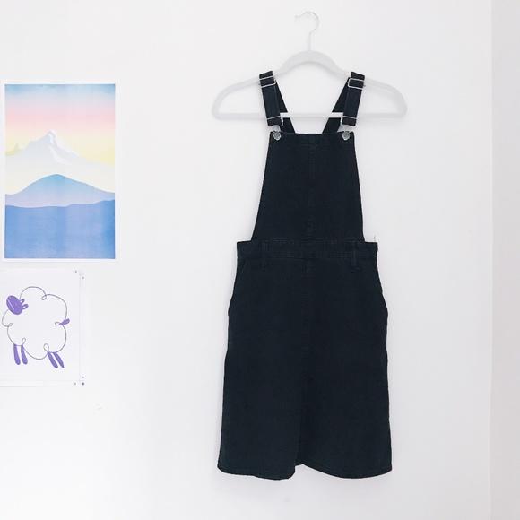 c615b3c24c2 Madwell black overall dress